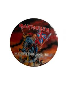IRON MAIDEN - Maiden England - Button / Anstecker