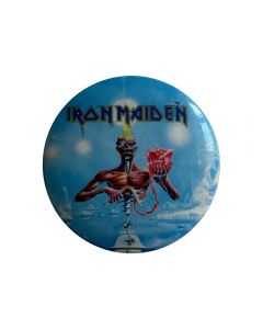 IRON MAIDEN - Seventh son of a Seventh Son - Button / Anstecker