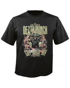 FIVE FINGER DEATH PUNCH - Sergeant Major - T-Shirt