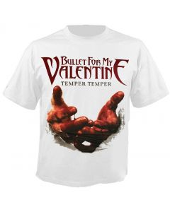 BULLET FOR MY VALENTINE - Blood Hands - White - T-Shirt