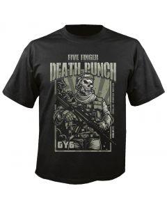 FIVE FINGER DEATH PUNCH - War Soldier - T-Shirt