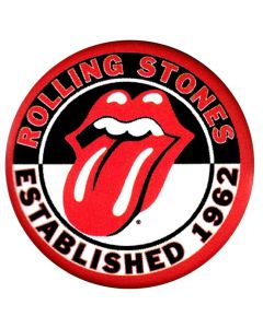 THE ROLLING STONES - Established 1962 - Patch / Aufnäher