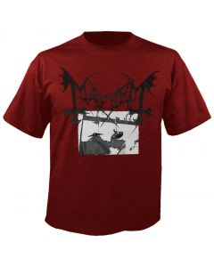 MAYHEM - Deathcrush - Red - T-Shirt