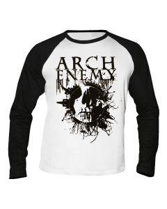 ARCH ENEMY - Skull - Baseball - Langarm - Shirt / Longsleeve
