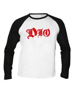 DIO - Logo - Baseball - Langarm - Shirt / Longsleeve