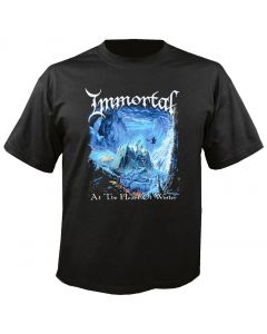 IMMORTAL - At the Heart of Winter - Cover - T-Shirt