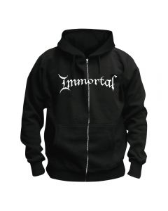 IMMORTAL - At the Heart of Winter - Cover - Kapuzenjacke / Zipper