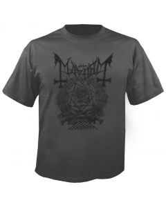 MAYHEM - Barbed Wire - Charcoal - T-Shirt