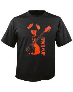 AC/DC - Power Up - Angus Horns - Lightning - Black - T-Shirt