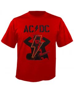 AC/DC - Power Up - Angus Horns - Red - T-Shirt