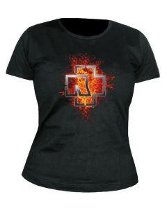 RAMMSTEIN - Lava - GIRLIE - Shirt