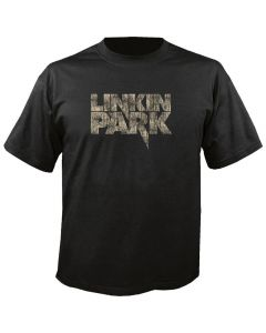 LINKIN PARK - Logo - Distressed - Black - T-Shirt
