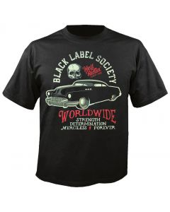 BLACK LABEL SOCIETY - Hell Riding Hot Rod - T-Shirt