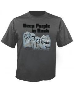 DEEP PURPLE - In Rock - Grey - T-Shirt