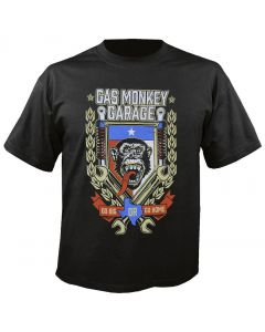 GAS MONKEY GARAGE - Go Big or Go Home - T-Shirt