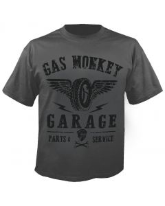 GAS MONKEY GARAGE - Tyres Parts Service - T-Shirt
