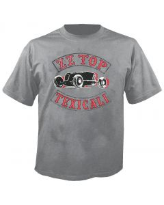 ZZ TOP - Texicali - Heather Grey - T-Shirt