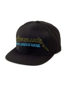 METALLICA - and Justice for All - Snapback - Base - Cap