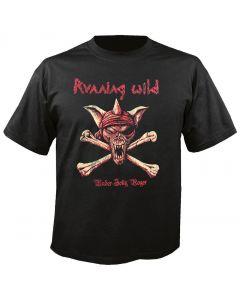 RUNNING WILD - Crossbones - Under Jolly Roger - T-Shirt