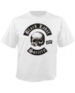 BLACK LABEL SOCIETY - Skull - Doom Crew - White - T-Shirt