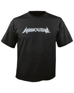 AIRBOURNE - Cover - Boneshaker - Black - T-Shirt