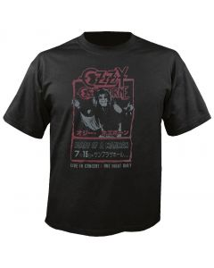 OZZY OSBOURNE - Diary of a Madman - Japan - Vintage - T-Shirt