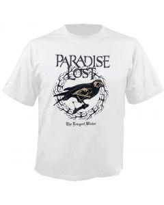 PARADISE LOST - Medusa - The longest winter - White - T-Shirt