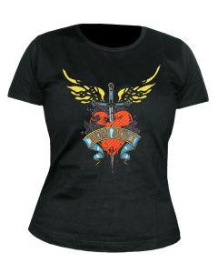 BON JOVI - Heart and Dagger - GIRLIE - Shirt
