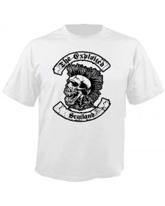 THE EXPLOITED - Scotland - White - T-Shirt