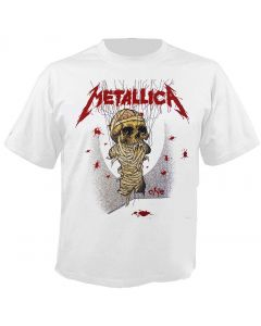 METALLICA - One - Landmine - White - T-Shirt