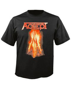 ACCEPT - Burning Flying V - T-Shirt
