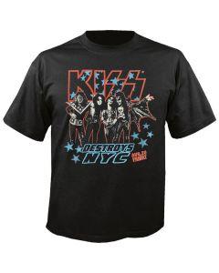 KISS - Destroys NYC - Vintage - T-Shirt