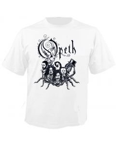 OPETH - Band Scorpions - White - T-Shirt