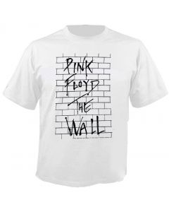 PINK FLOYD - The Wall - Album Cover - White - T-Shirt