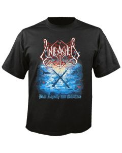 UNLEASHED - The Hunt for The White Christ - Blot , Loyality & Sacrifice - T-Shirt
