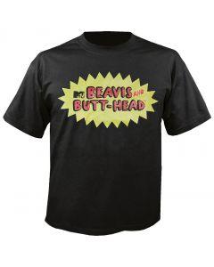 BEAVIS & BUTT-HEAD - Logo - Black - T-Shirt