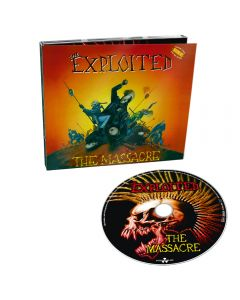 THE EXPLOITED - The Massacre (Special Edt.) - CD - DIGI