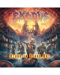 EXODUS - Blood in , Blood out - CD