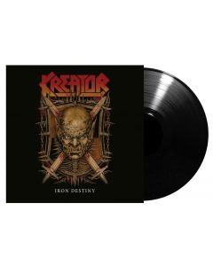 """KREATOR / ARCH ENEMY - Iron Destiny / Breaking the Law - 7"""" EP (Black)"""