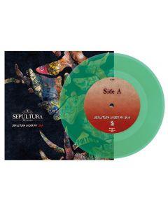 "SEPULTURA - Under my Skin - 7"" EP (Green)"