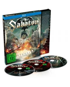 SABATON - Heroes on Tour - 2Blu-Ray plus CD DIGI