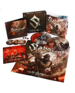 SABATON - The Last Stand - EARBOOK (2CD / DVD / 2LP - Picture)