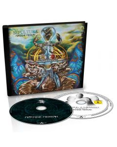 SEPULTURA - Machine messiah - CD plus DVD - DIGIBOOK