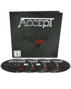ACCEPT - Restless an Live - EARBOOK