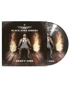 BLACK STAR RIDERS - Heavy Fire - LP (Picture)