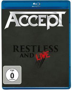 ACCEPT - Restless & Wild - Blu-Ray