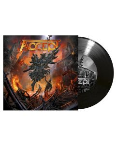 "ACCEPT - The Rise of Chaos - 7"" EP (Black)"