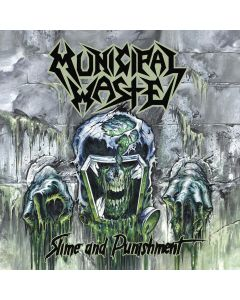 MUNICIPAL WASTE - Slime and Punishment - CD