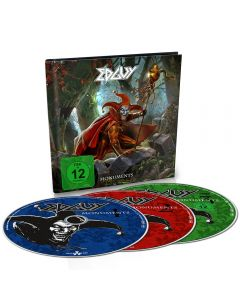 EDGUY - Monuments - 2CD plus DVD - DIGIBOOK