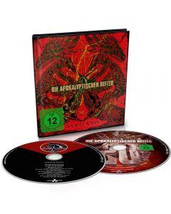 DIE APOKALYPTISCHEN REITER - der Rote Reiter - CD - DIGIBOOK plus Blu Ray